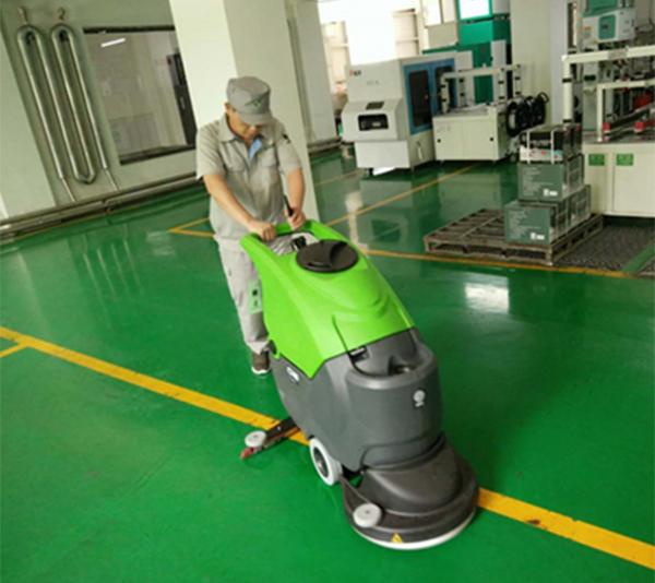 五常米业使用IPC洗地机