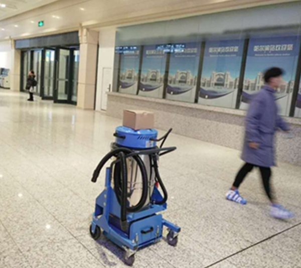 哈尔滨火车站电瓶式吸尘器