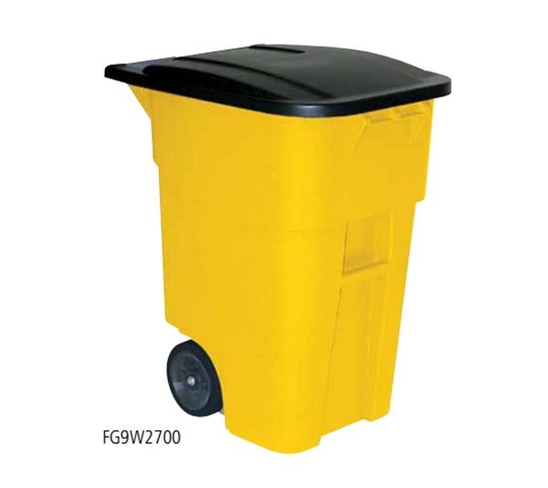 可推式垃圾桶