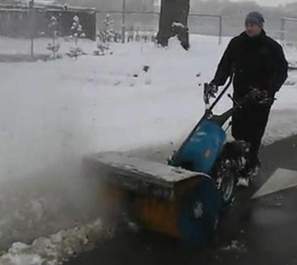 意大利进口多功能除雪机