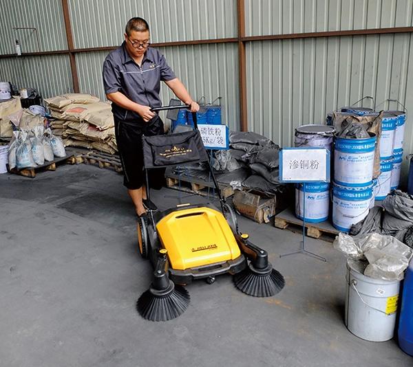 人工扫地机