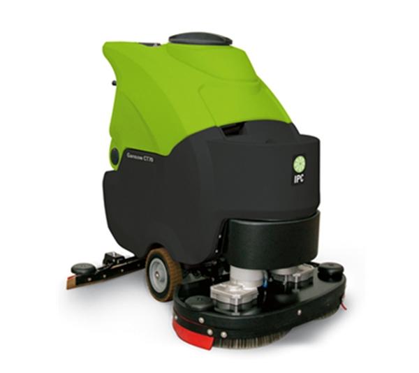 双刷自行走手推洗地机